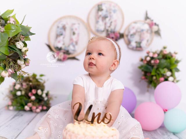 FOTOS DE SMASH CAKE CUMPLEAÑOS BEBE - foto 4