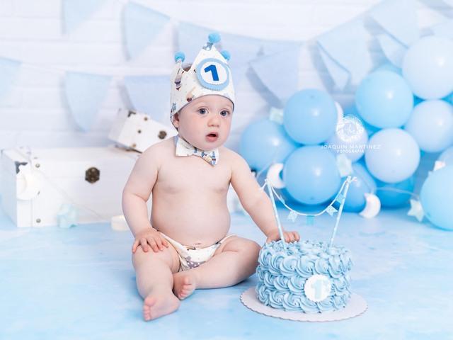 FOTOS DE SMASH CAKE CUMPLEAÑOS BEBE - foto 2