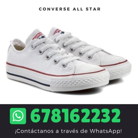 MIL ANUNCIOS.COM Zapatillas all star blancas Segunda mano