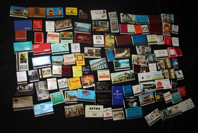 Coleccion Cajas Cerillas Antiguas
