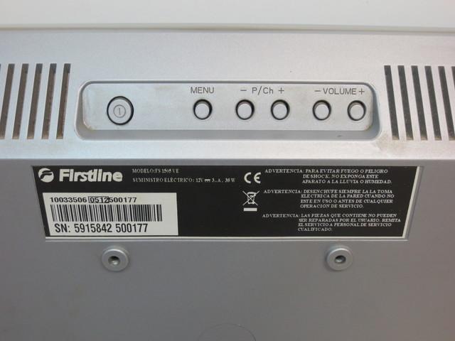 TELEVISOR FIRSTLINE FS1505 SIN TDT - foto 3