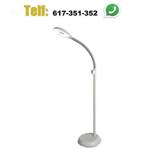LAMPARA LUPA CON PIE 90 LED\\\'S - foto 1