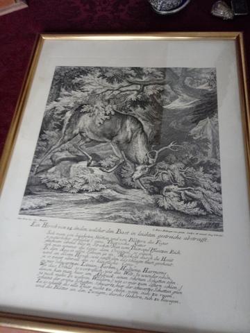 Cuadro Antiguo Litografia