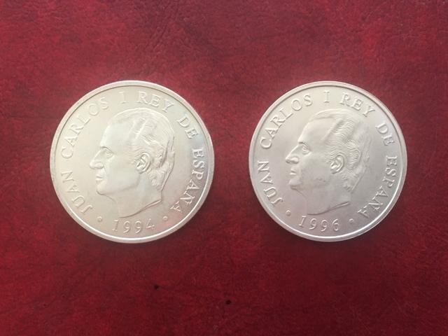 Monedas Plata España