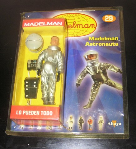MADELMAN MDE ASTRONAUTA 2001 EN CAJA - foto 1