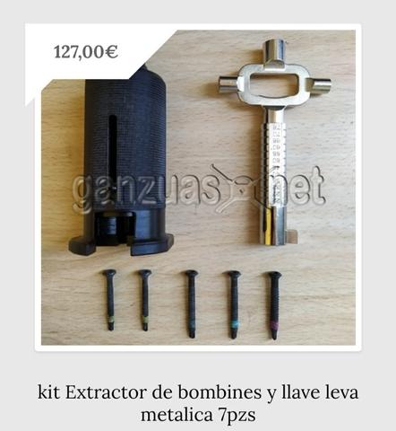 Cerraduras extractor casero de