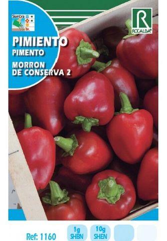 seeds Pimiento Morrón de conserva 350 semillas aprox