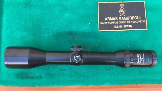 RIFLE EXPRESS A.  MAGUREGUI CAL 375 H&H M - foto 3