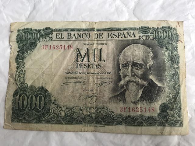 Dos Billetes De 1000 Pesetas