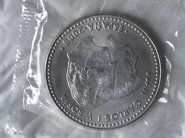 Monedas 12 Euros + 2000 Pesetas Plata