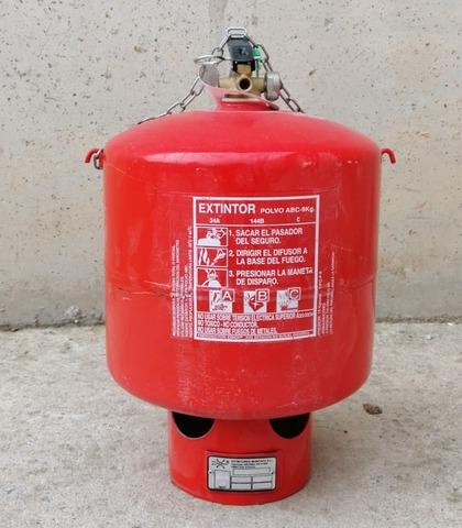 Extintor Polvo Abc Con Sprinkler