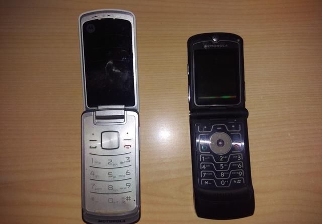 MÓVIL,  TELÉFONO,  MOTOROLA  V3 BLANCO - foto 1