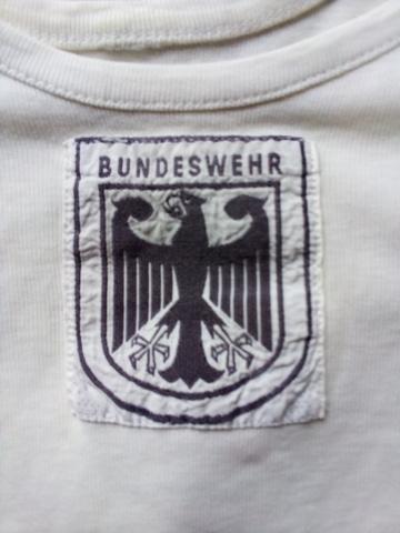 Camiseta Tanquista Alemán Modelo Años 80