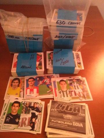 Lote 1030 Cromos Liga Este 2007/2008