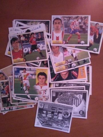 Lote De 40 Cromos Liga Este 2003/2004