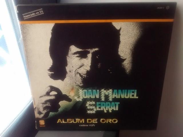 4 LP JOAN M.  SERRAT ALBUM ORO 1971 - foto 1