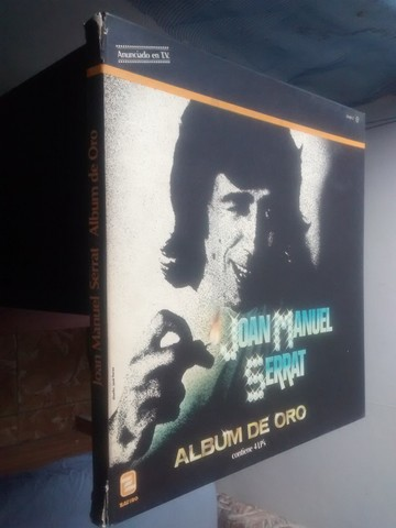 4 LP JOAN M.  SERRAT ALBUM ORO 1971 - foto 2