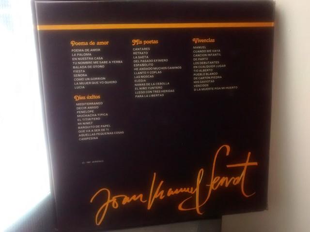 4 LP JOAN M.  SERRAT ALBUM ORO 1971 - foto 3