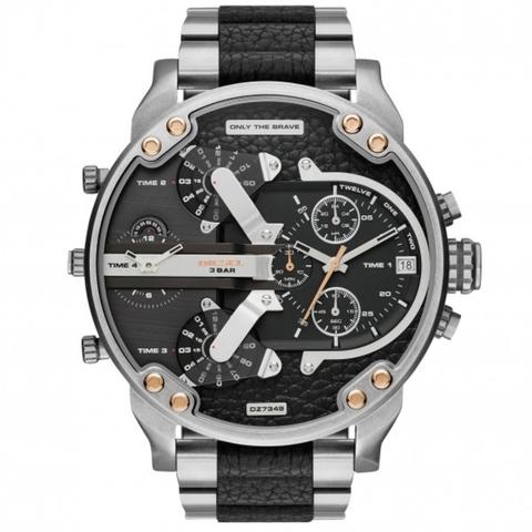 Diésel 20 Nuevo MrDaddy Reloj Inox Ybfg76y
