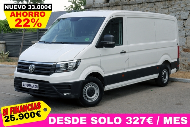 VOLKSWAGEN - CRAFTER 2. 0 TDI 35BM AUTOMATIC - foto 1