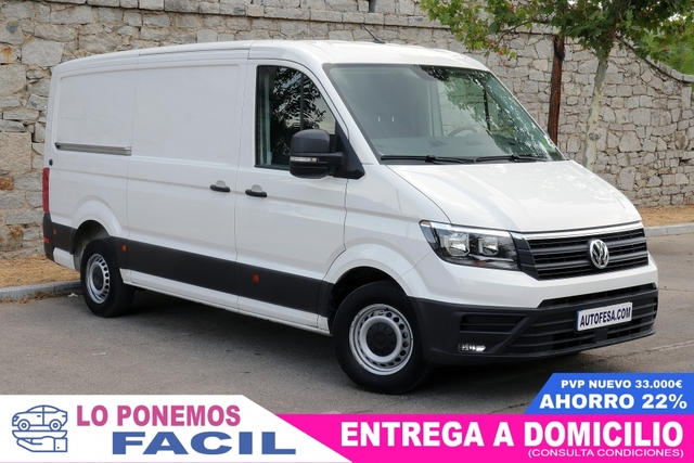 VOLKSWAGEN - CRAFTER 2. 0 TDI 35BM AUTOMATIC - foto 2