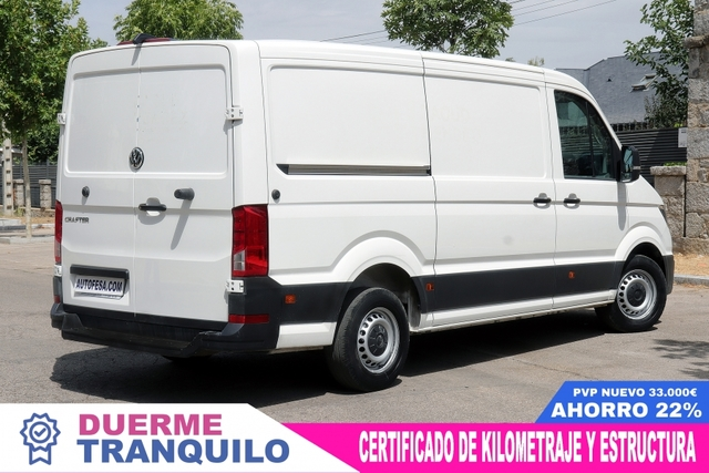 VOLKSWAGEN - CRAFTER 2. 0 TDI 35BM AUTOMATIC - foto 3