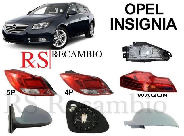 Conductor Derecho Ala Espejo De Cristal Convexo Opel Insignia 2008-2016