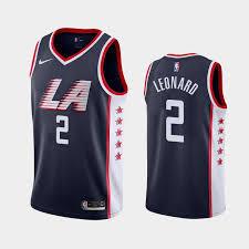 CAMISETA NBA LEONARD CLIPPERS 2 AZUL - foto 1