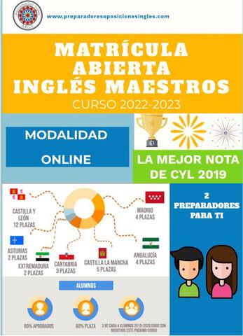 2 PREPARADORES INGLÉS MAESTROS - foto 1