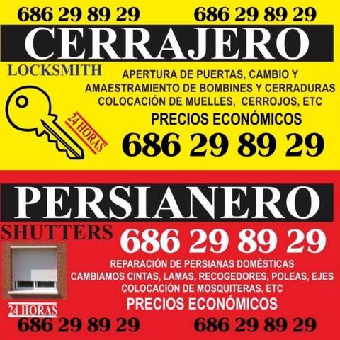 CERRAJERO PERSIANAS BARATO ALUMINIO PVC - foto 1
