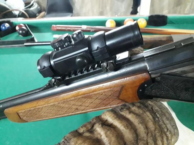 Brno combo rifle