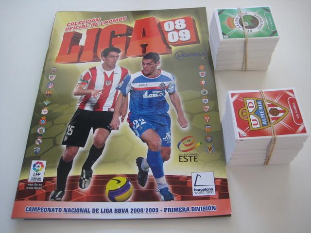 Liga Este 2008-09:  Coleccion Completa
