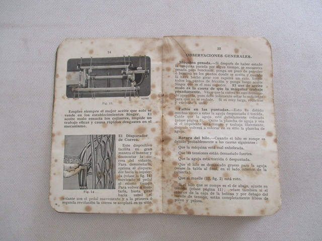 INSTRUCCIONES MAQUINA COSER SINGER, 1928.  - foto 6