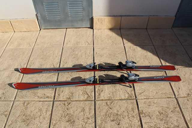 ESQUÍ HEAD CYBER X20 + BASTONES - foto 1