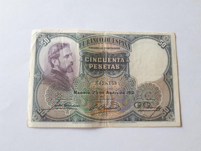 50 Pesetas 1931