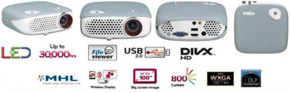 PROYECTOR DE VIDEO LED HD  LG PW800G NUE - foto 4