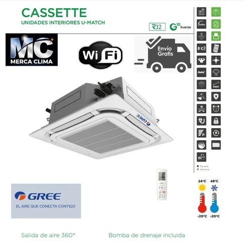 AIRE CASSETTE GREE UM CST 24 R32 WIFI - foto 1