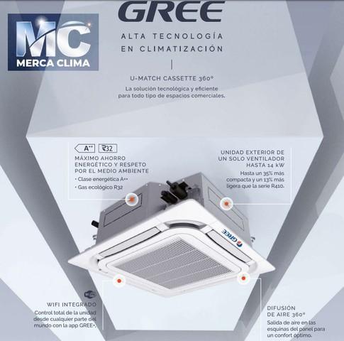 AIRE CASSETTE GREE UM CST 24 R32 WIFI - foto 2