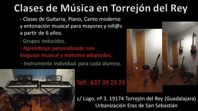 CLASES DE MUSICA PIANO Y GUITARRA - foto 1