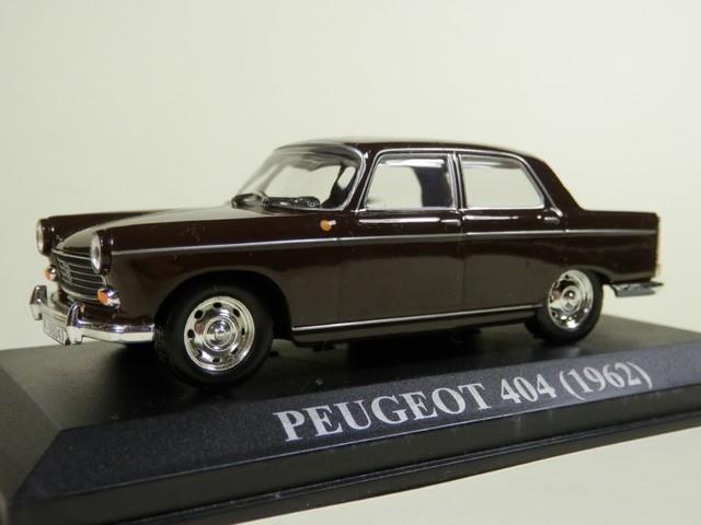 Peugeot 404 1962 Coche en miniatura escala 1:43