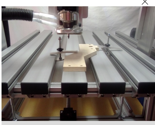 FRESADORA CNC PANTOGRAFO CONTROL NUMÉRIC - foto 3