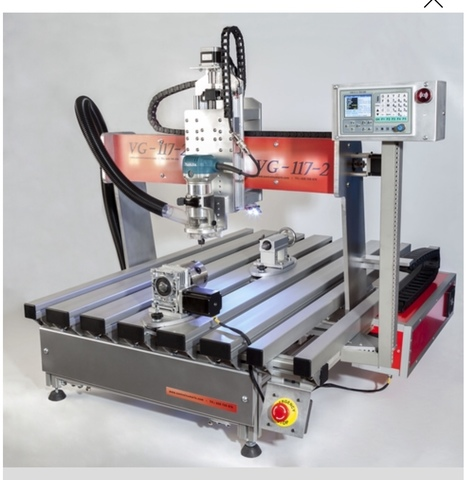 FRESADORA CNC PANTOGRAFO CONTROL NUMÉRIC - foto 1