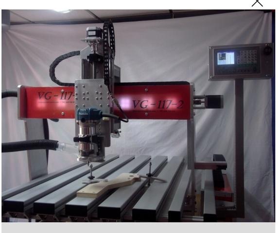 FRESADORA CNC PANTOGRAFO CONTROL NUMÉRIC - foto 2