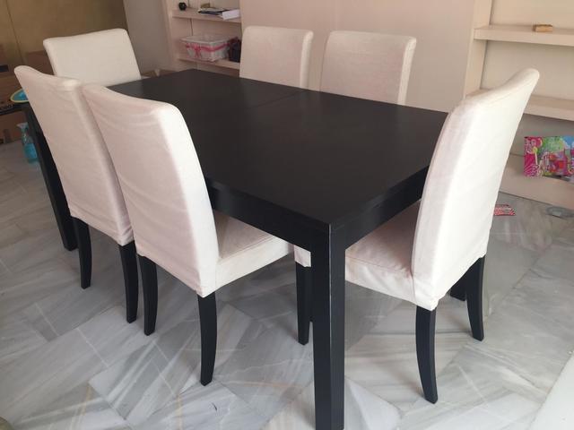 ikea mesas de comedor con sillas