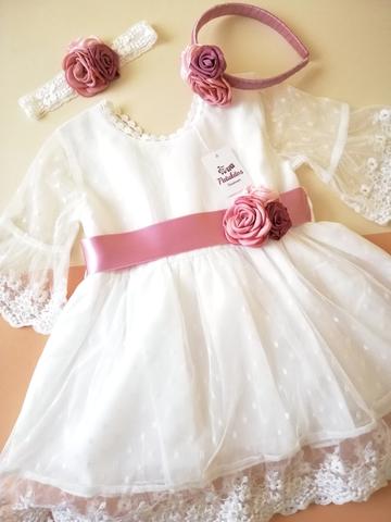Vestido De Ceremonia Bebeniña