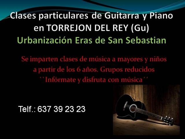 CLASE DE GUITARRA Y PIANO - foto 1