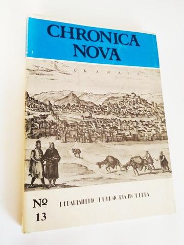 CHRONICA NOVA N°13 HISTORIA MODERNA - foto 1