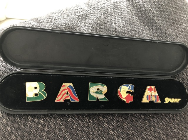 Pins Barça