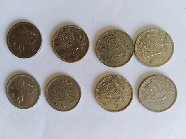 Moneda De Cinco Pesetas