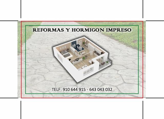 HORMIGÓN IMPRESO - foto 1